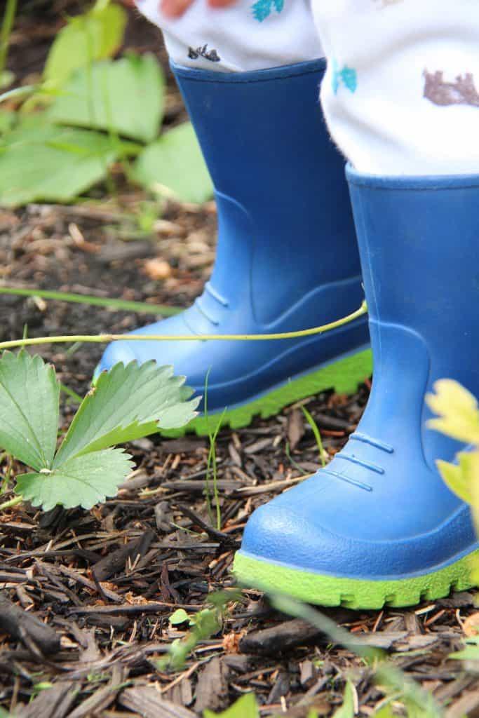 Gum Boots for Kids Garden Play