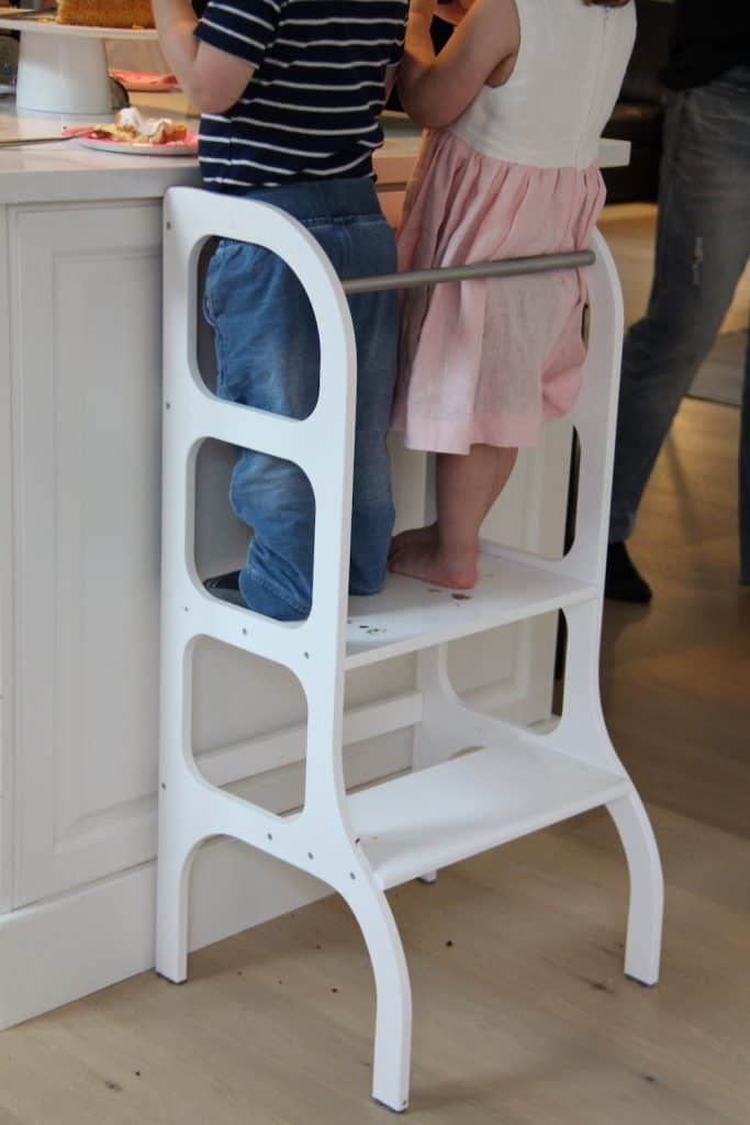 Helping Tower to Help Toddler Reach Countertop