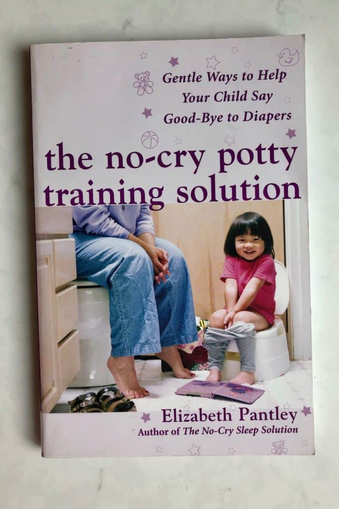 No-Cry Potty Solution Book - For Gentle Parenting
