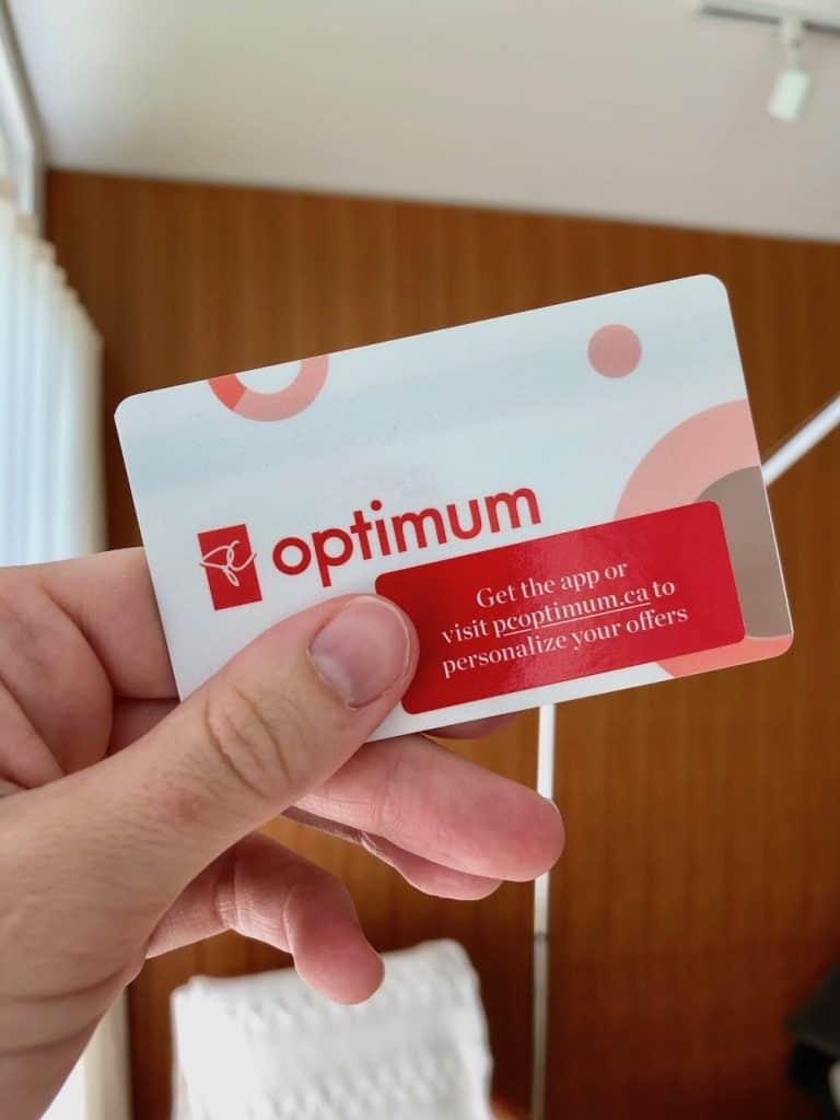 PC Optimum Loyalty Program Card