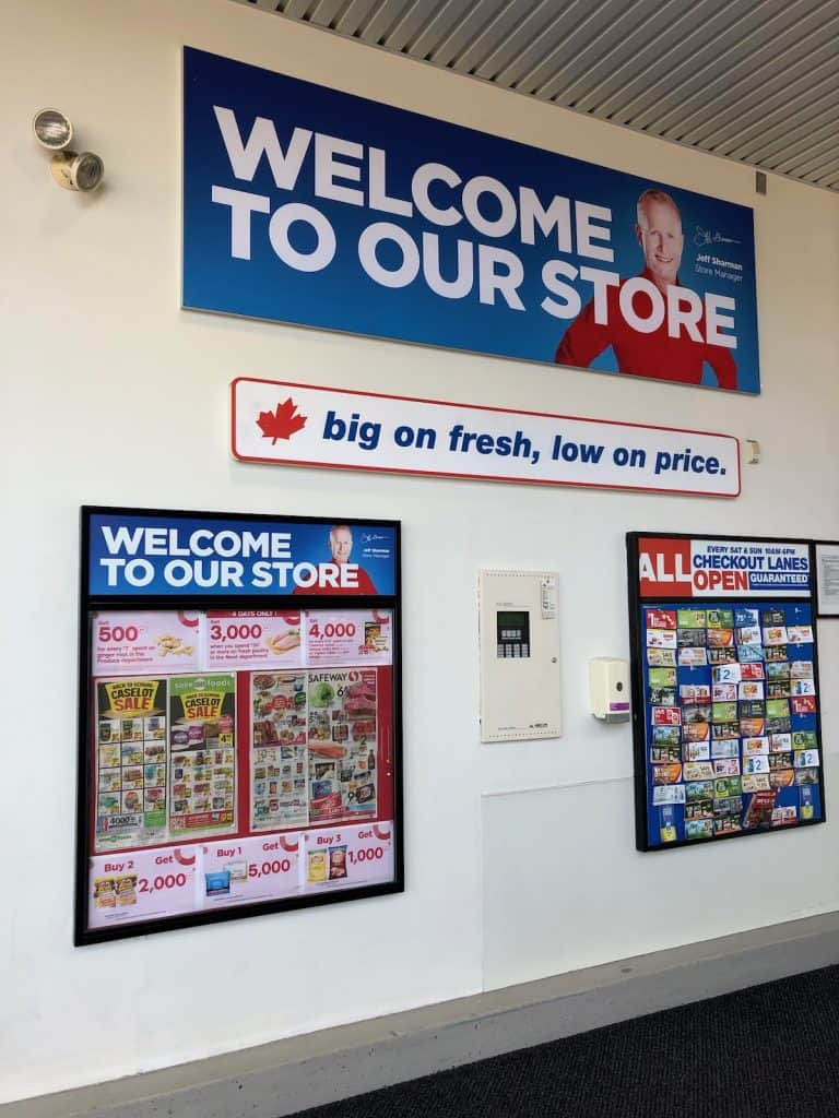 Superstore Flyers Posted in Lobby