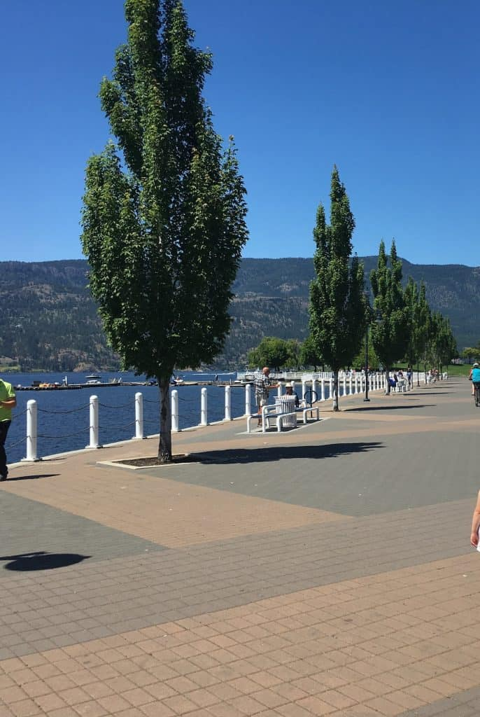 What to Do in Kelowna - Walk Along the Waterfront