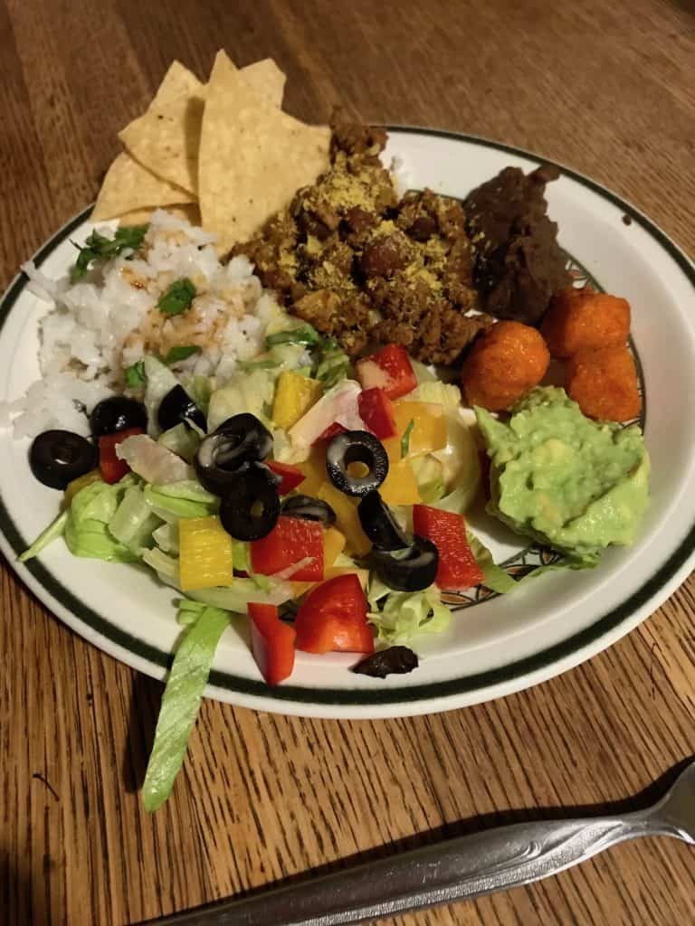 Big Kid Meal - Mexican Food for Kids