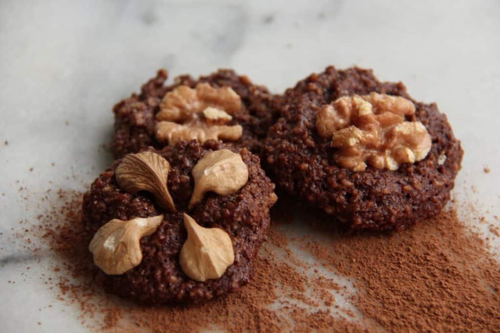 Gluten-Free Chocolate Honey Walnut Cookies