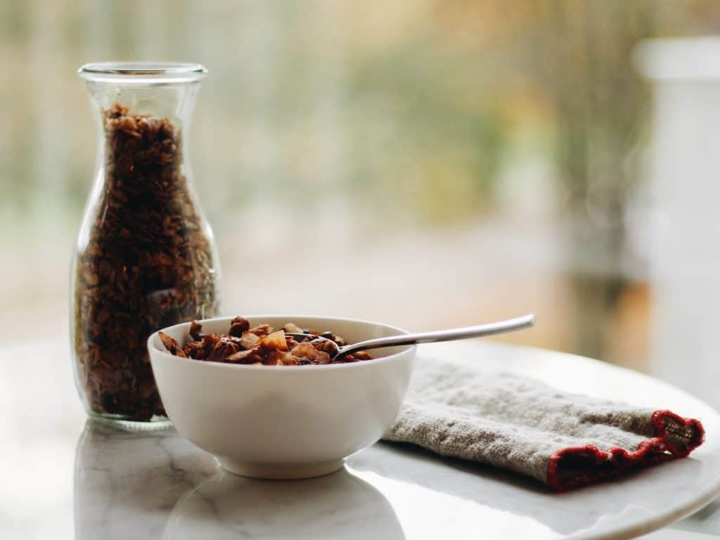 Dried Cranberry and Pumpkin Seed Granola for Fall Mornings