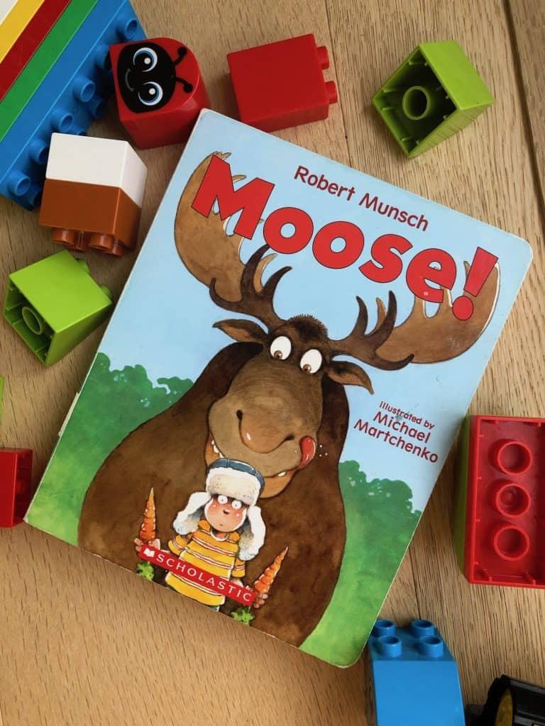 Board Book for Toddler - Moose! By Robert Munsch