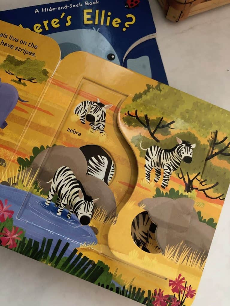 Board Books with Peek-A-Boo Pages and Flaps