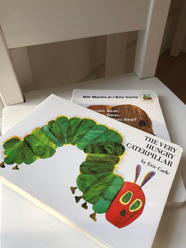 Eric Carle Kids Board Books - Hungry Caterpillar