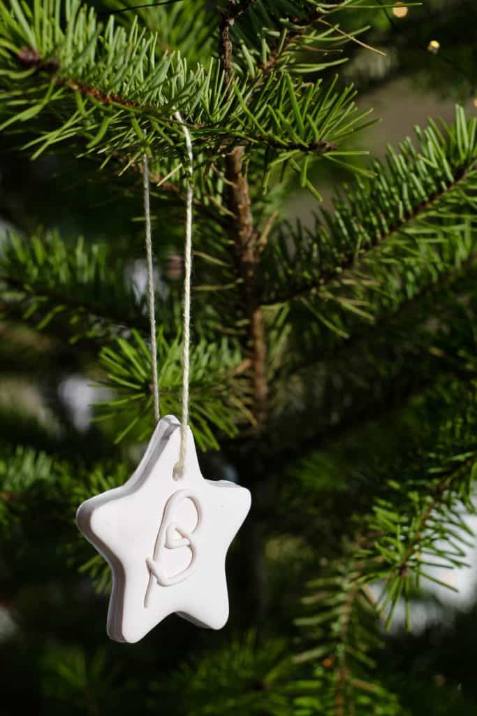 Kids Polymer Clay Ornament - Christmas Craft - SCANDI