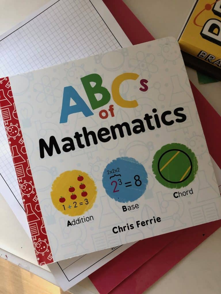 Math Board Book for Babies and Toddlers
