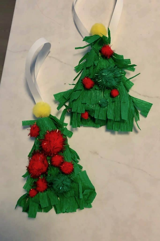 Piñata Christmas Tree Ornaments