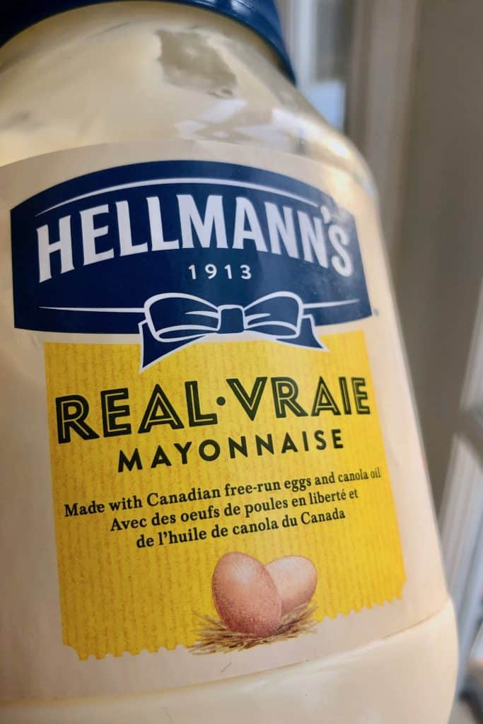 Plain Mayonnaise - Ingredients Dairy-Free, Gluten-Free
