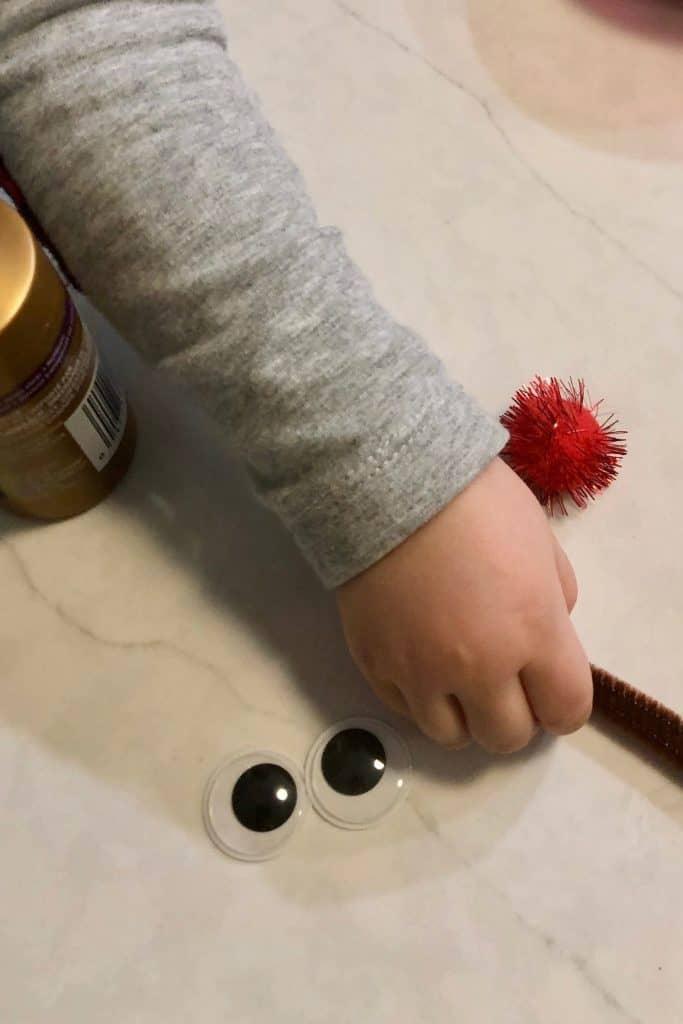 Reindeer Craft for Preschoolers
