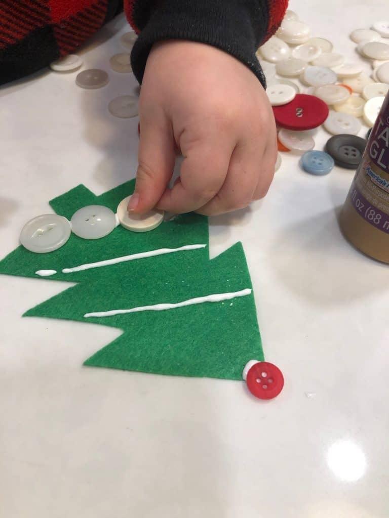 preschool Christmas tree ornaments
