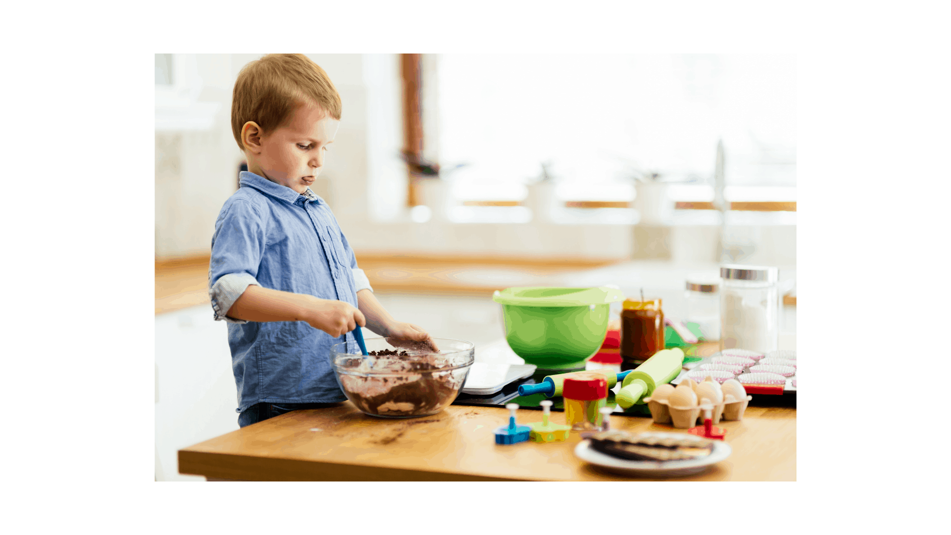 montessori learning in the kitchen